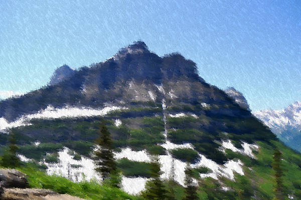 Landscape Art Print featuring the photograph Oberlin Mountain by Kevin Bone