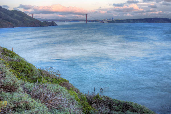 Bonita Point Art Print featuring the photograph The Bridge by JC Findley