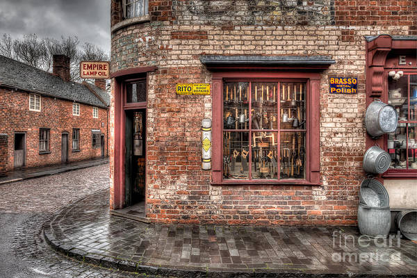 Architecture Art Print featuring the photograph Victorian Corner Shop by Adrian Evans