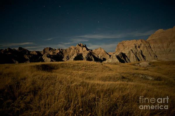 Badlands National Park Art Print featuring the photograph Big Dipper by Chris Brewington Photography LLC