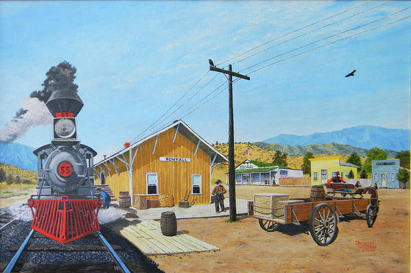 Newhall Station by Duwayne Williams