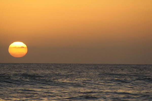 Sunset Art Print featuring the photograph Puerto Vallarta Sunset by Marty Potter