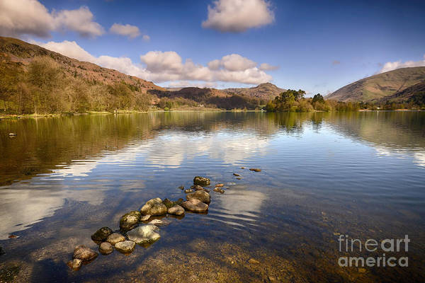 Grasmere Art Print featuring the photograph Grasmere by Smart Aviation