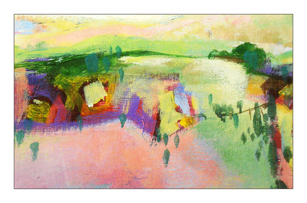 Landscape Art Print featuring the painting Ann by Dale Witherow