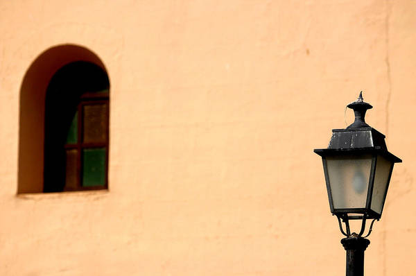 Photographer Art Print featuring the photograph Arched Lamp by Jez C Self