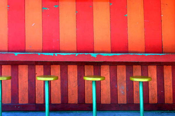 Photographer Art Print featuring the photograph Be Seated by Jez C Self