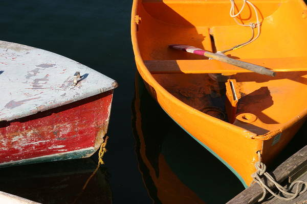 Cape Ann Art Print featuring the photograph Cape Ann Boats by Linda Russell