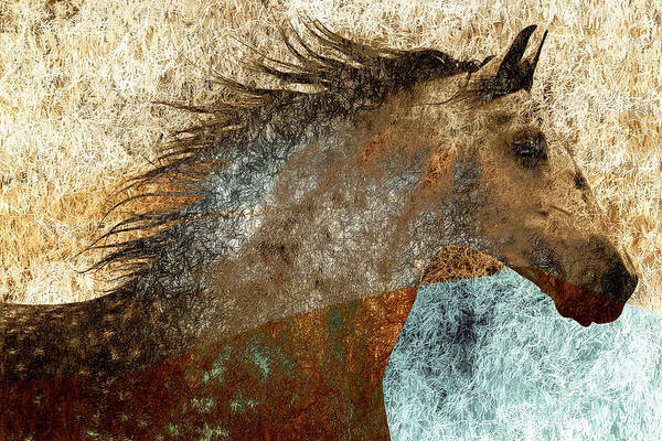 Mane Art Print featuring the photograph Electric Mane by Nick Sokoloff