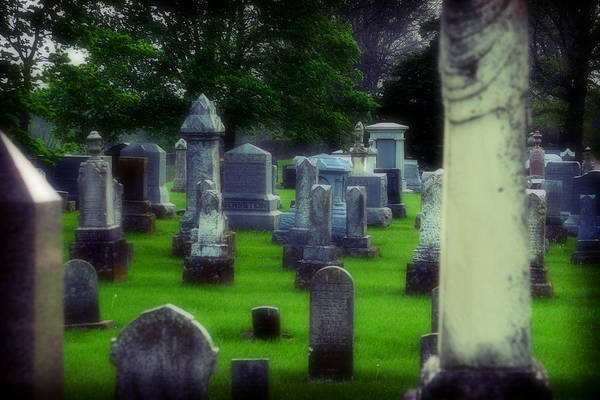 Cemetery Art Print featuring the photograph Ethereality by Carl Perry