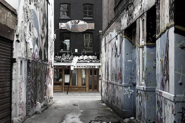 Photographer Art Print featuring the photograph Graff Street by Jez C Self