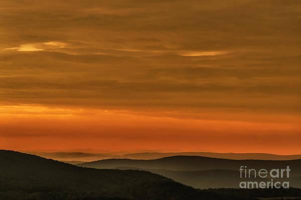 Sunrise Art Print featuring the photograph Highland Daybreak by Thomas R Fletcher