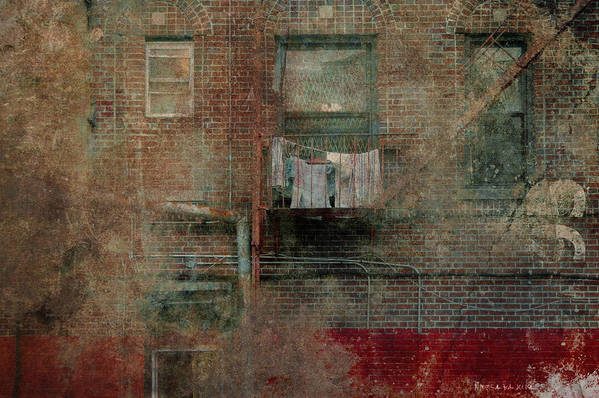 Building Art Print featuring the photograph Islands Of Memory by Inesa Kayuta
