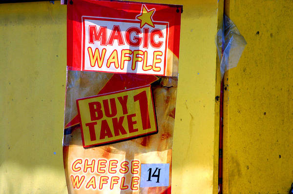 Photographer Art Print featuring the photograph Magic Waffle by Jez C Self