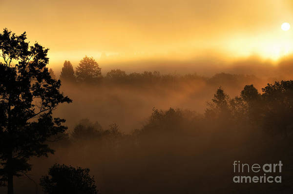 Sunrise Art Print featuring the photograph Mountain Sunrise by Thomas R Fletcher