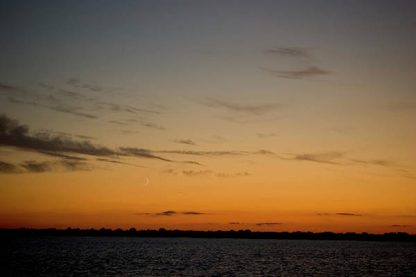 Red Art Print featuring the photograph Plum Island Sunset by Jack Foley