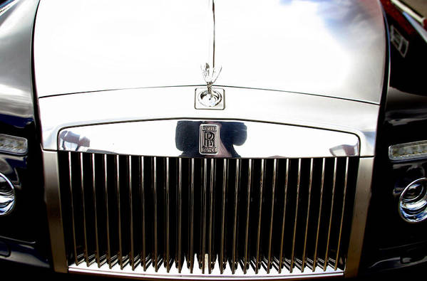 Jez C Self Art Print featuring the photograph Rolls Royce 2 by Jez C Self