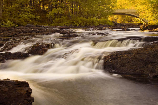 Rapids Art Print featuring the photograph Skootamata River by Linda McRae