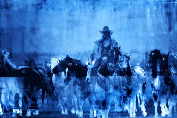 Fine Art Art Print featuring the photograph Spirit Herd by Nick Sokoloff