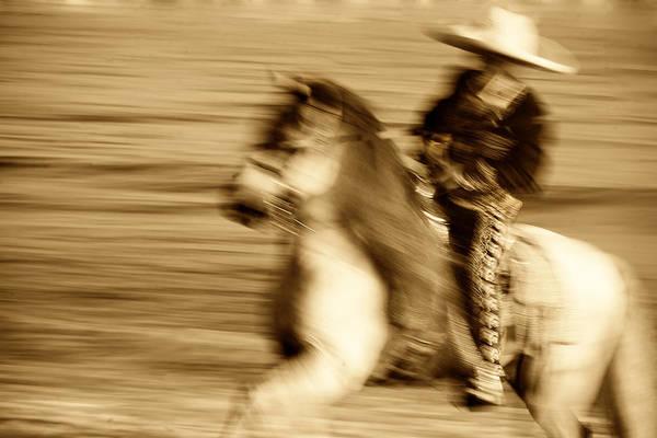 Equine; Horses; Charro Art Print featuring the photograph Spirit Of The Charro3 by Nick Sokoloff
