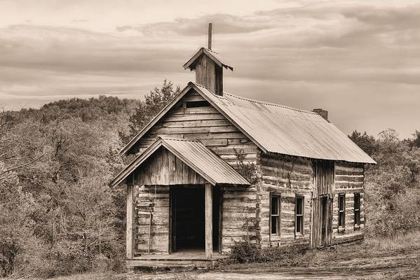 Church Art Print featuring the photograph That Old Time Religion by JC Findley