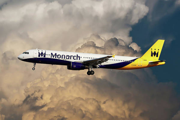 Monarch Airlines Art Print featuring the photograph The Final Flight by Smart Aviation
