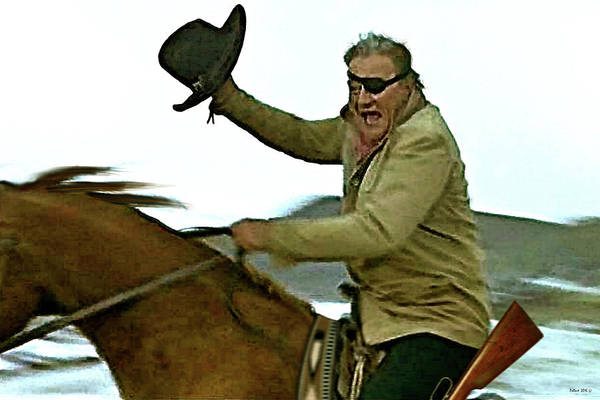 True Grit, Rooster Cogburn, jumping 4 rails, John Wayne, Well, come see a fat old man some time  by Thomas Pollart
