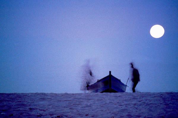 Moon Art Print featuring the photograph Tunesian Night by Michael Mogensen