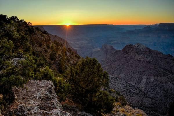 Grand Art Print featuring the photograph Grand Canyon Last Light by Chance Kafka