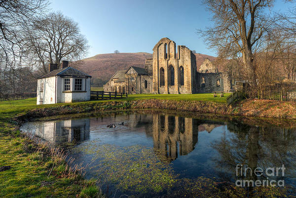 13th Century Art Print featuring the photograph Duck Pond by Adrian Evans