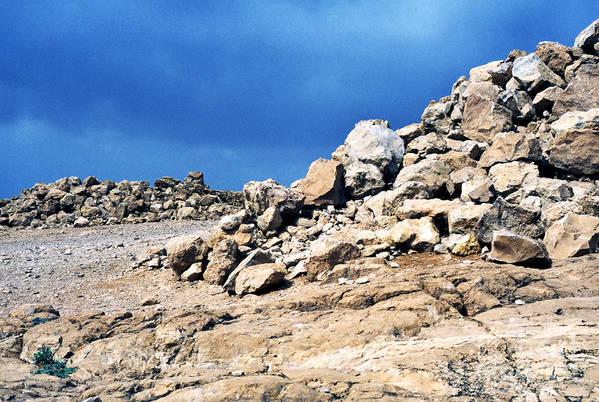 Masada Art Print featuring the photograph Masada by Thomas R Fletcher