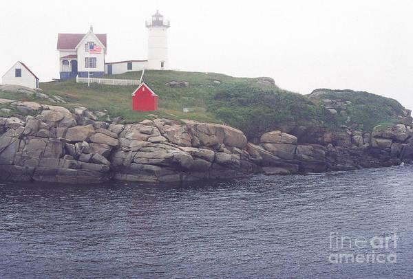 Cape Neddick Lighthouse Art Print featuring the photograph Cape Neddick Lighthouse by Thomas R Fletcher