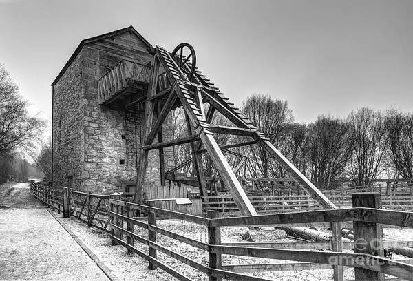 Mine Art Print featuring the photograph Old Mine by Adrian Evans
