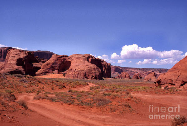 Arizona Art Print featuring the photograph Red Dirt Road by Thomas R Fletcher