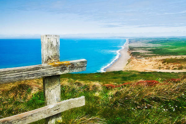 Point Reyes Art Print featuring the photograph South Beach At Point Reyes by Mick Burkey