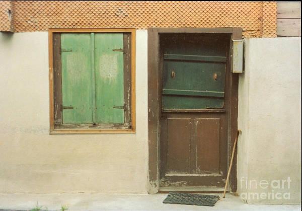 Wooden Door Art Print featuring the photograph Rustic Door by Christine Jepsen
