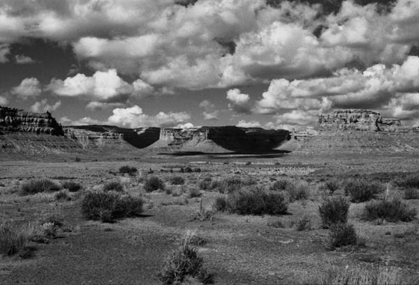Landscape Art Print featuring the photograph Clouds Over Cedar Mesa by Troy Montemayor