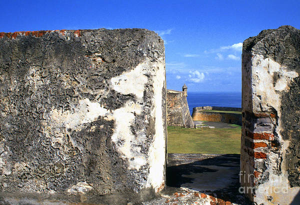 Puerto Rico Art Print featuring the photograph Old San Juan Fortress by Thomas R Fletcher