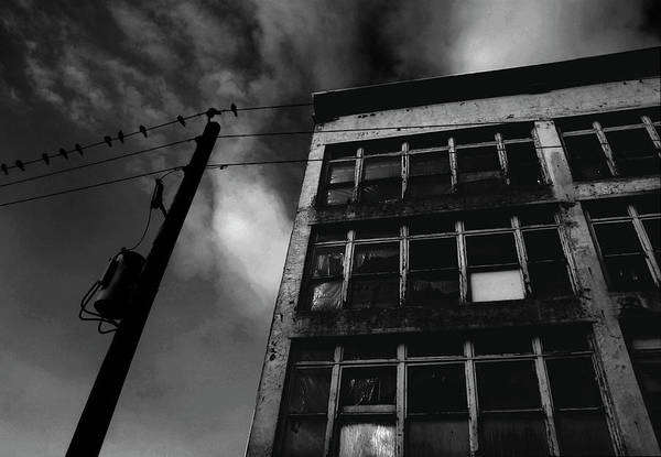 Black And White Art Print featuring the photograph Urban Desolation by Barbara White