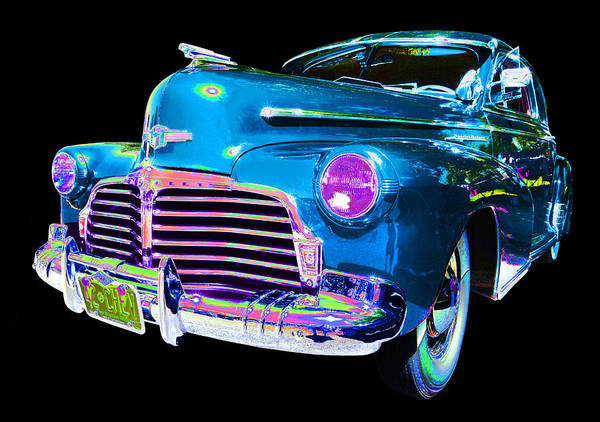 1942 Chevy Art Print featuring the photograph Chevy by Allan Price