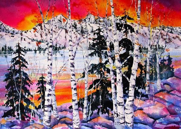 Tahoe Sunset V by Eva Nichols