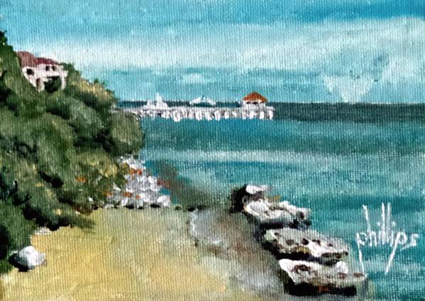 Waterfront at Southport by Jim Phillips