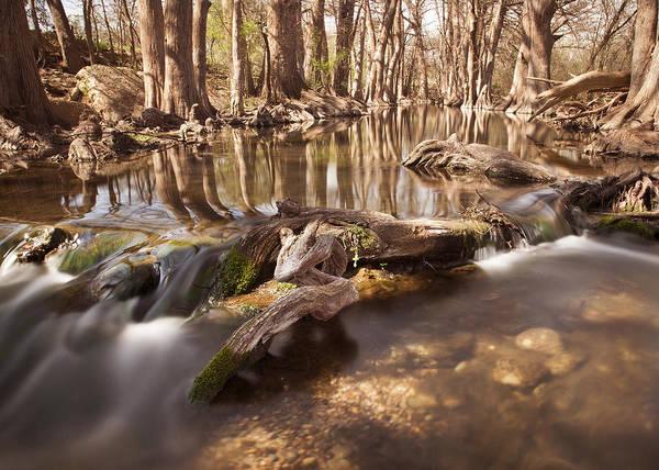 Cibolo Creek Art Print featuring the photograph Cibolo Creek by Paul Huchton