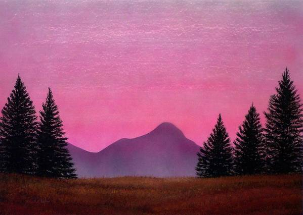 Landscape Art Print featuring the painting Brightness by Frank Wilson