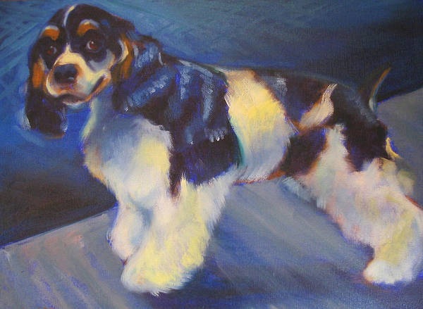 Art Print featuring the painting Cooper by Kaytee Esser