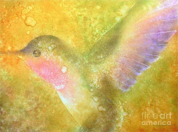 Watercolor Art Print featuring the painting Harmony by Robert Hooper