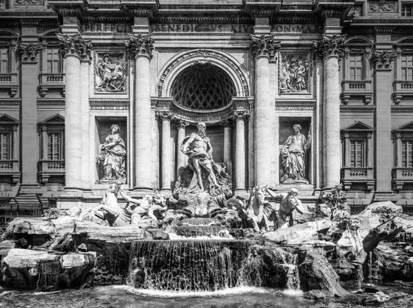 Trevi in Black and White by Bob Firebaugh