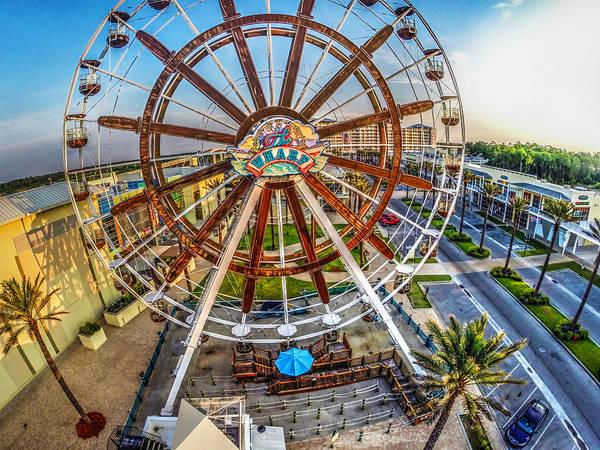 Wharf Wheel Closeup by Michael Thomas