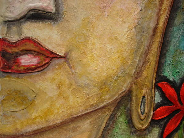 Art Print featuring the painting Budha by Times Art