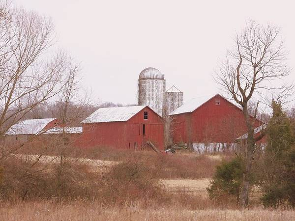 Farms Art Print featuring the photograph 519 Farm by Amanda Vouglas