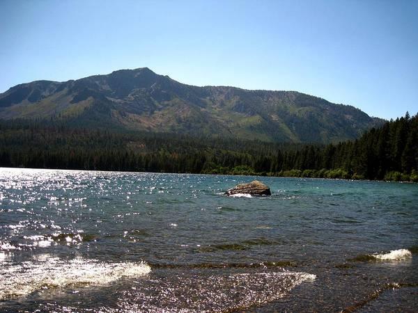 Landscape Art Print featuring the photograph Fallen Leaf Lake - South Lake Tahoe by Albert Almondia